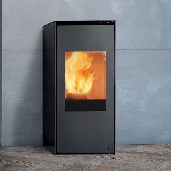Edilkamin Lou Air Tight 8kw Pellet Stove