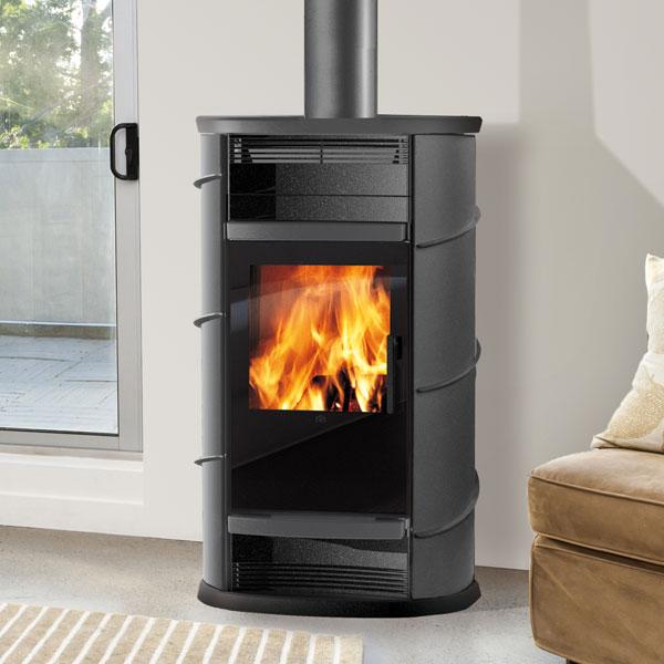 Edilkamin Lux 11kw Wood Burning Stove 163 2 744 35