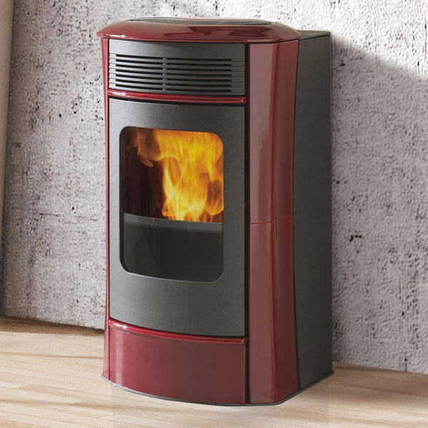 Edilkamin Sally Plus 10kw Pellet Stove - Ceramic