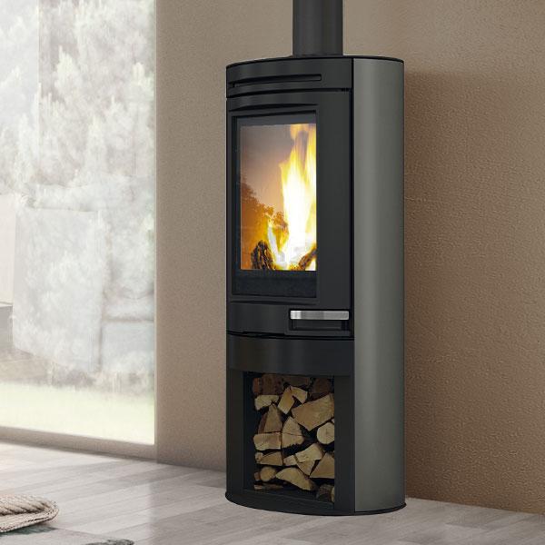 Edilkamin Tally 6kw Wood Burning Stove 163 1 867 82