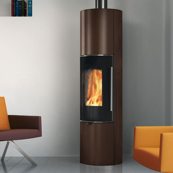 Edilkamin Tally Up S 6kw Wood Burning Stove