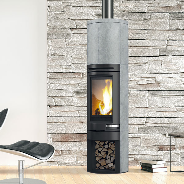 Edilkamin Tally S 6kw Wood Burning Stove 163 2 149 56
