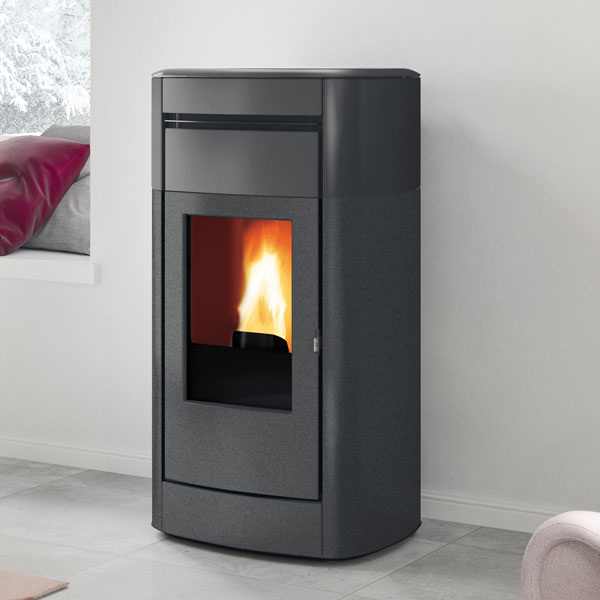 Edilkamin Vyda Air Tight 10kw Pellet Stove