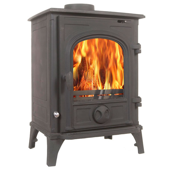 The Elbrus 5.5kw Multifuel Wood Burning Stove