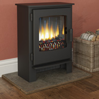 Wood Burning Stoves And Flues From Glowing Embers