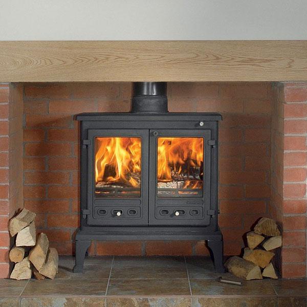 Multi Fuel Burner Reviews: Firefox 12 Multi Fuel 13kw Wood Burning Stove