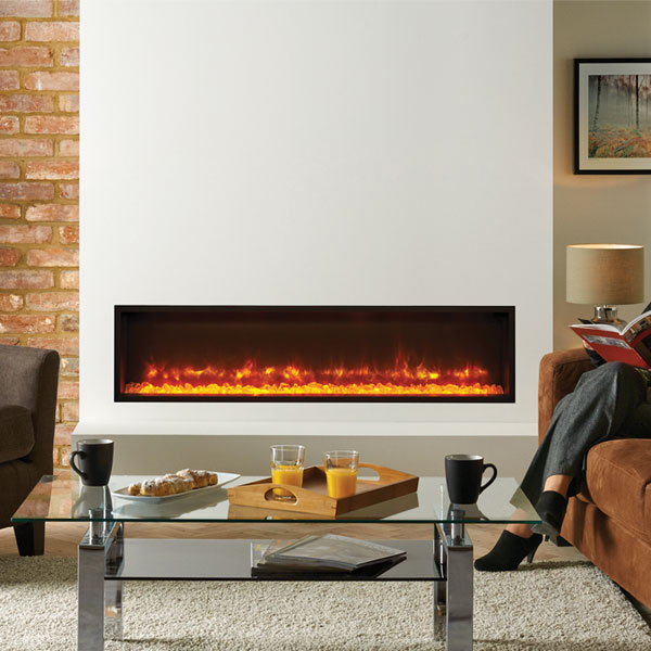 Gazco Radiance 135R Edge Inset Electric Fireplace