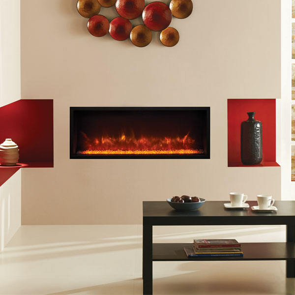 Gazco Radiance 85R Edge Inset Electric Fireplace