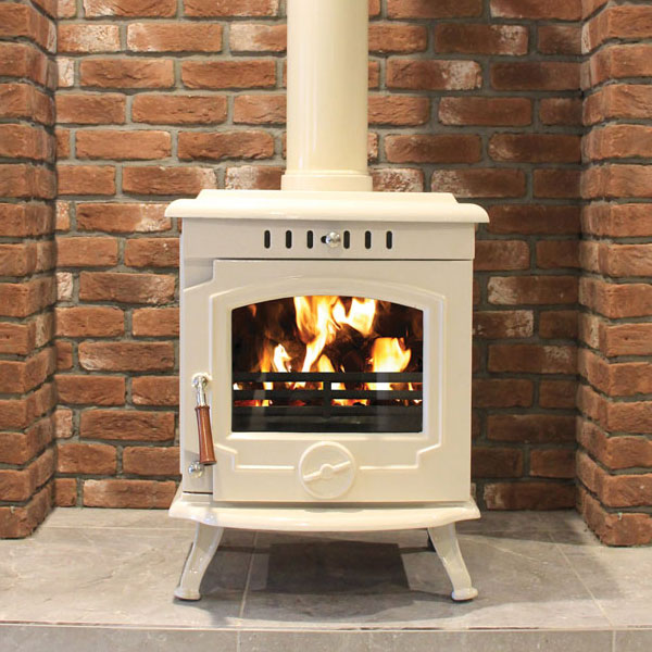Henley Skellig 8kw Multifuel Wood Burning Stove