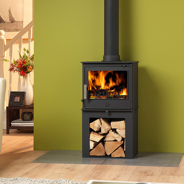ACR Malvern 5kw Defra Multifuel Stove With Log Store