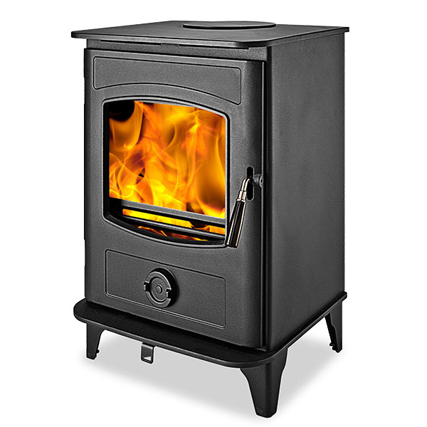 Graphite 5kw Defra Approved Multi Fuel Wood Burning Stove
