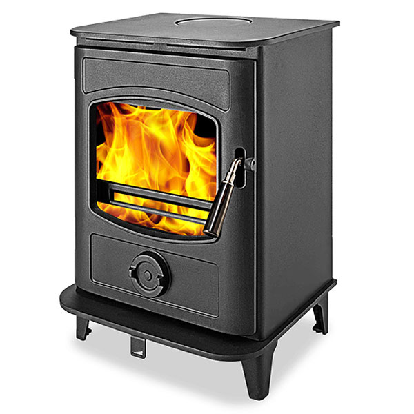 Graphite 8kw Defra Approved Multi Fuel Wood Burning Stove