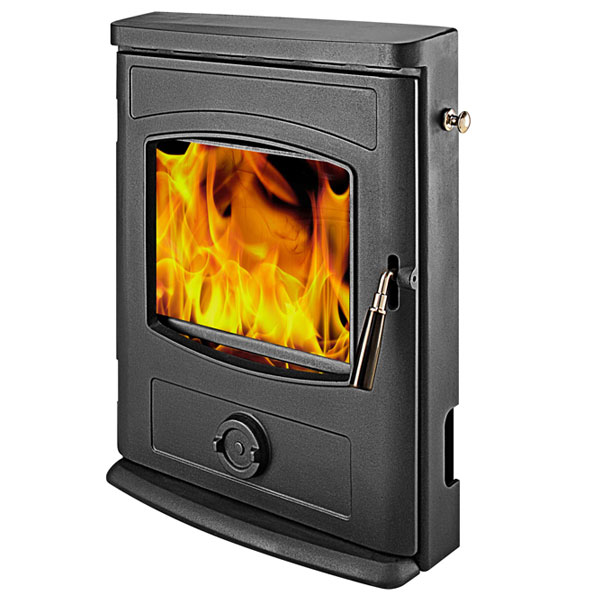 Graphite 4.9kw Multi Fuel Wood Burning Inset Stove
