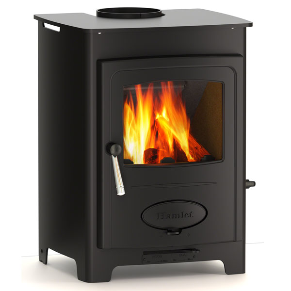 Arada Solution 5 Defra Wood Burning Stove 4.9kw