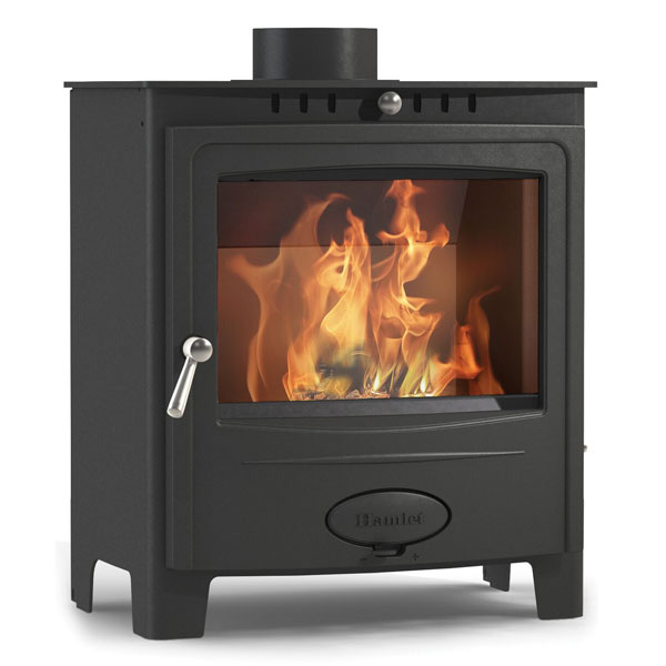 Arada Solution 5 Widescreen 4.9kw Defra Multifuel Stove