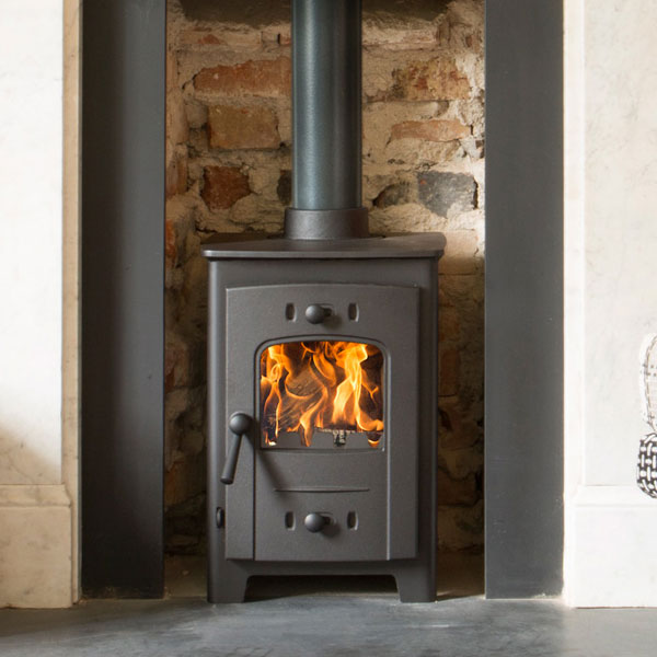 Arada Hardy 4 - 4.2kw Multifuel Wood Burning Stove