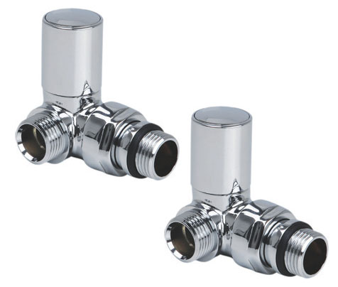 Reina Crova Corner Valves - Chrome