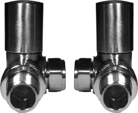Reina Crova Corner Valves - Brushed