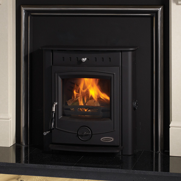 Henley Achill 17kw Multifuel Wood Burning Inset Boiler Stove