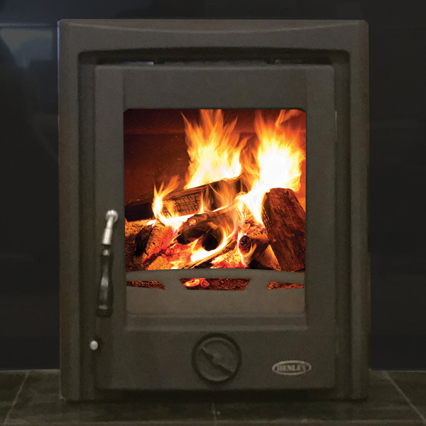 Henley Apollo 7kw Multifuel Wood Burning Inset Stove