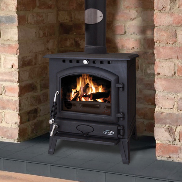 Henley Bracken 9kw Multifuel Wood Burning Stove