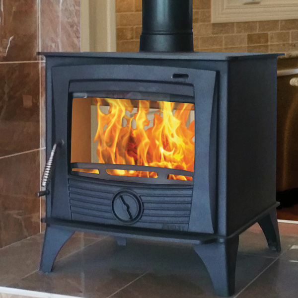 Henley Druid 20kw Double Sided Multifuel Wood Burning Stove