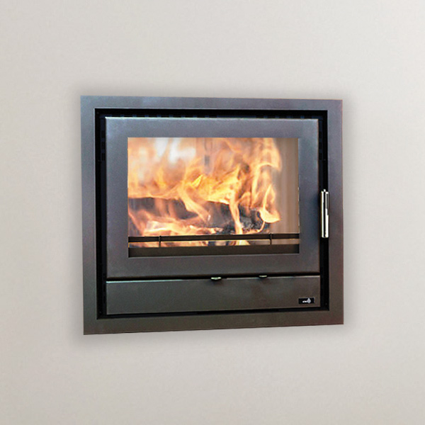 Henley Faro 600 - 10kw Multifuel Double Sided Inset Stove
