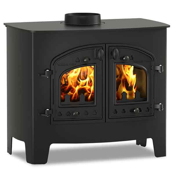 Villager A Flat Wood 14.4kw Wood Burning Stove