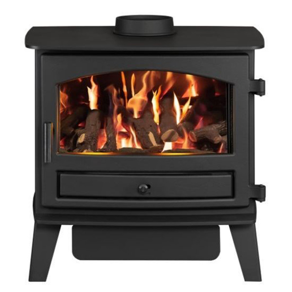 Hunter Avalon 6G - 4.4kw Natural Gas Stove - Log or Coal Effect