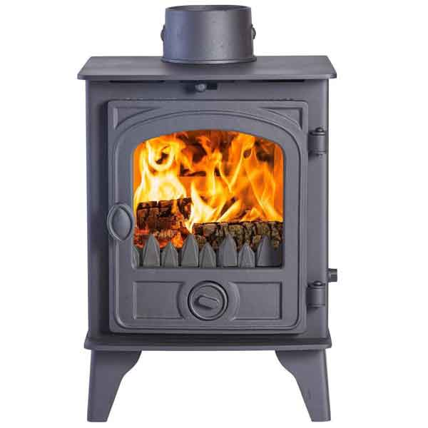 Hunter Hawk 4 - 10.6kw Double Sided, Double Depth Wood Burning Stove