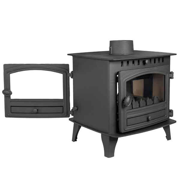 Hunter Herald 6 - 6.5kw Double Sided Multifuel Stove