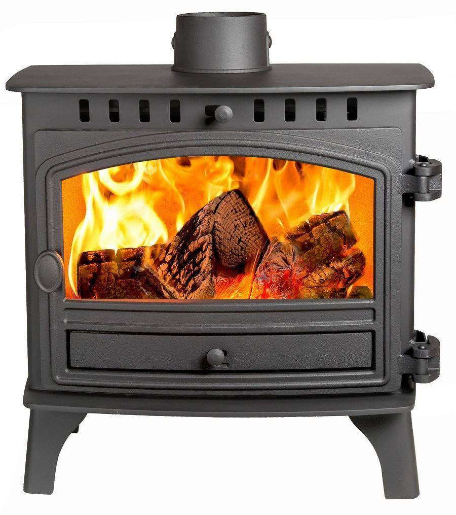 Hunter Herald 8 Slimline - 5kw SE Wood Burning Stove