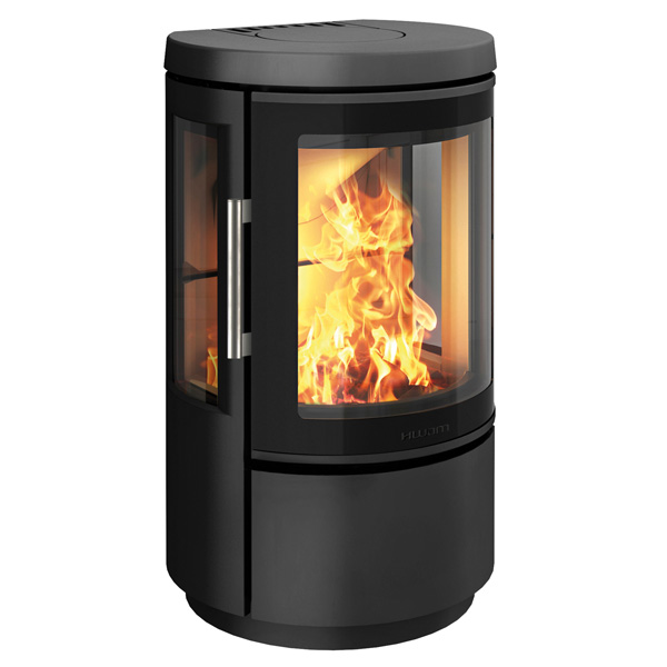 Hwam 2610 4.5kw Defra Wood Burning Stove With Glass Door
