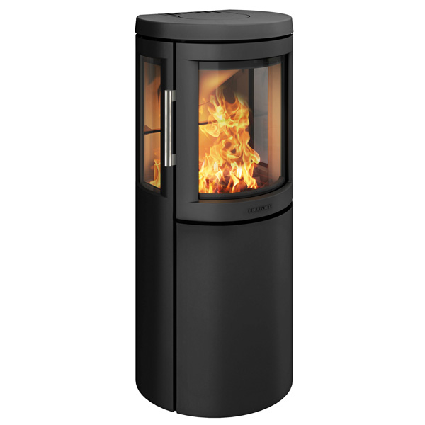 Hwam 2630 4.5kw Defra Wood Burning Stove With Side Glass