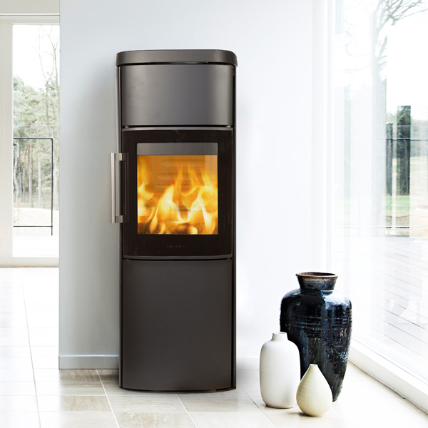 Hwam 4560 4.9kw Wood Burning Stove With Glass Door