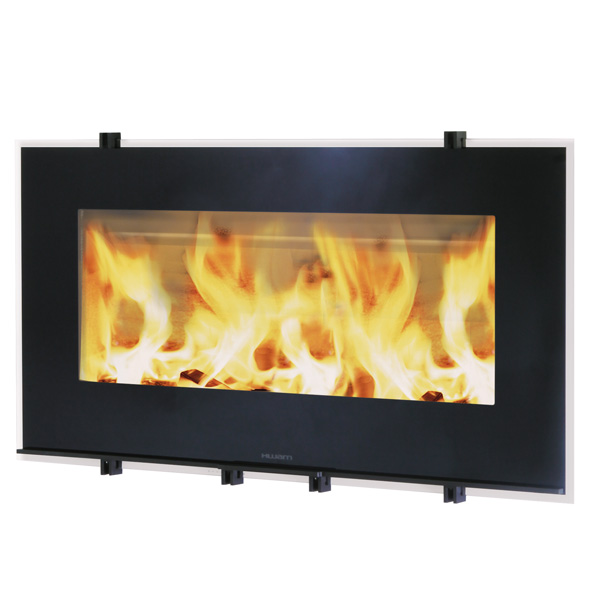 Hwam 30/65 10kw Wood Burning Inset Stove With Vertical Lift Door