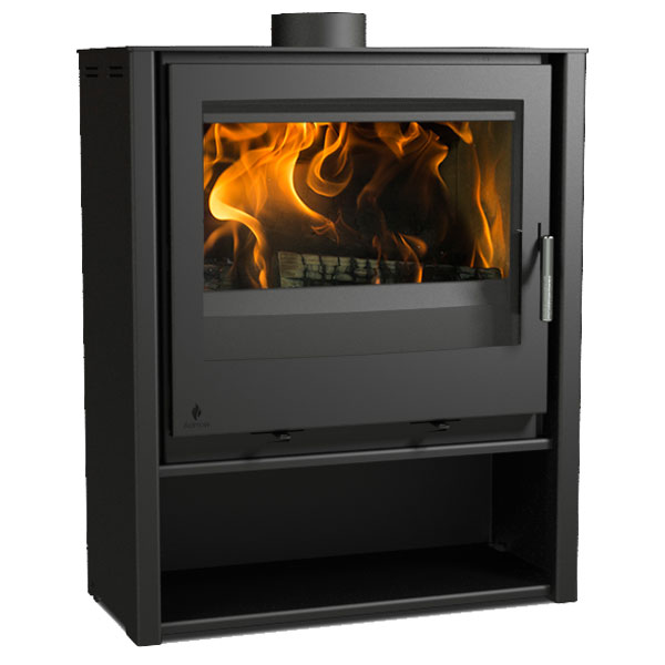 Aarrow i600 Mid - 4.9kw Defra Multifuel Wood Burning Stove Slimline