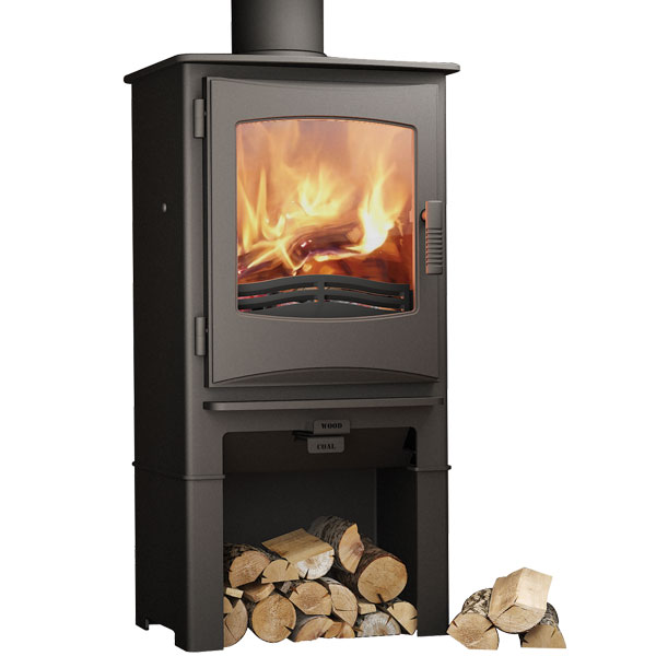 Evolution Ignite 5kw Defra Multifuel Stove With Log Store