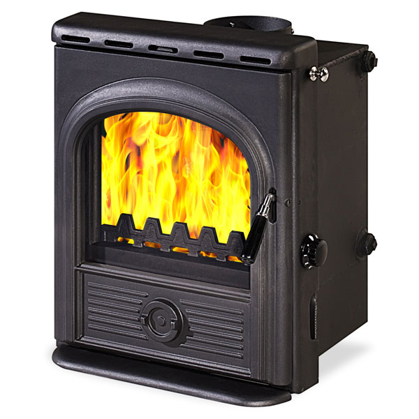 The Alpha Inset Boiler 12.6kw Multifuel Woodburning Stove
