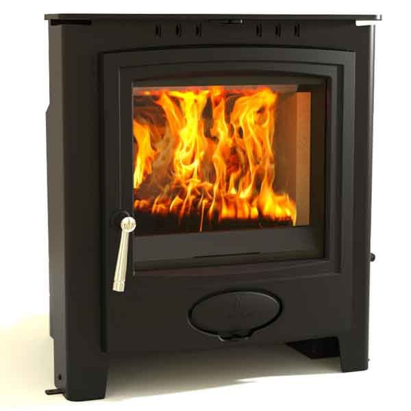 Aarrow Ecoburn Plus 7kw Inset Multifuel Wood Burning Stove