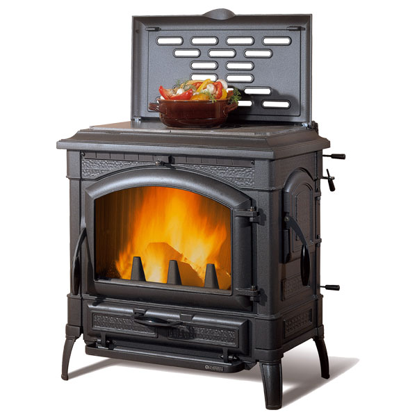 La Nordica Isotta 11.9kw Wood Burner With Hotplate for Cooking