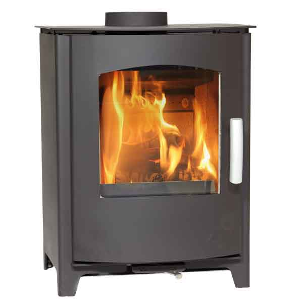 Mendip Churchill 8 - 8kw Defra Multifuel Woodburning Stove