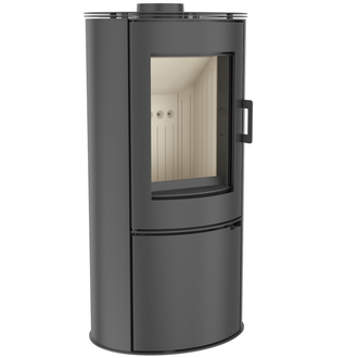 Kratki Koza 8kw Contemporary Steel Wood Burning Stove
