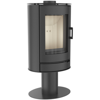 Kratki Koza 8kw Contemporary Pedestal Wood Burning Stove - OLD STOCK, BRAND NEW