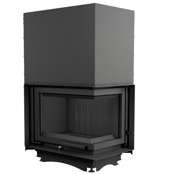Kratki Maja 11kw Inset Wood Burning Stove With Right Side Glass & Guillotine Door - MAJA/P/BS/G