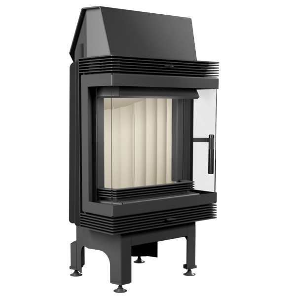Kratki Blanka 8kw Inset Wood Burning Stove With Side Glass - BLANKA/LP/BS