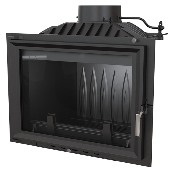 Kratki Eryk 12kw Inset Wood Burning Stove 700 Wide - ERYK/700