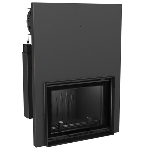 Kratki Eryk 12kw Inset Wood Burning Stove With Guillotine Door - ERYK/G