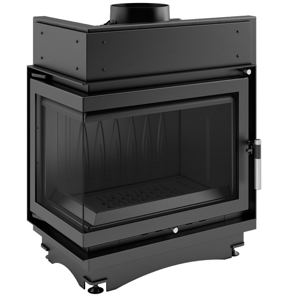 Kratki Maja 11kw Inset Wood Burning Stove With Left Connected Side Glass - MAJA/L/BS