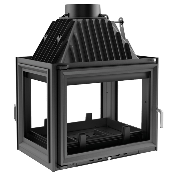 Kratki Zuzia 16kw Inset Wood Burning Stove Tunnel - ZUZIA/LPT